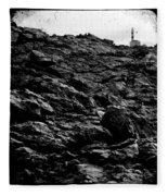 The Lighthouse1 Fleece Blanket