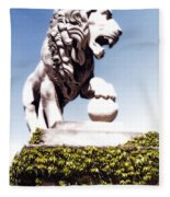 The Lion Fleece Blanket