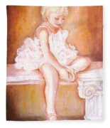 The Little Ballerina Fleece Blanket