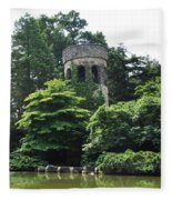 The Longwood Gardens Castle Fleece Blanket