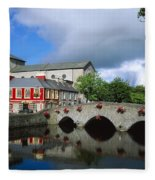 The Mall, Westport, Co Mayo, Ireland Fleece Blanket