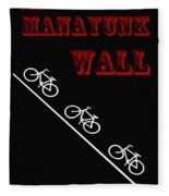 The Manayunk Wall Fleece Blanket