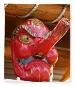 The Mask Fleece Blanket