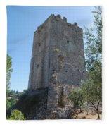 The Medieval Tower Fleece Blanket