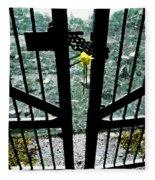 The Memorial Gates Fleece Blanket