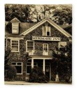 The Mermaid Inn - Chestnut Hill Fleece Blanket