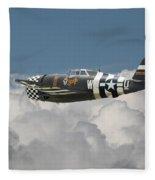 P47 Thunderbolt - The Mighty Jug Fleece Blanket