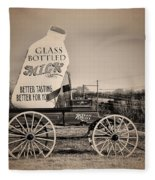 The Milk Wagon Fleece Blanket