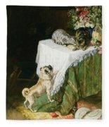 The Mischievous Tabbies Fleece Blanket