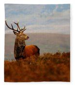 The Monarch Fleece Blanket