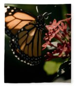 The Morning Monarch Fleece Blanket