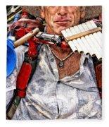 The Music Man Fleece Blanket