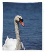 The Mute Swan Fleece Blanket