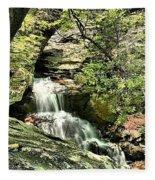 The Mystery Waterfall Fleece Blanket