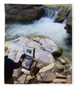The Narrows Quality Time Fleece Blanket