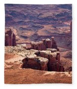 The Needles Fleece Blanket