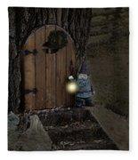 The Nightstalking Elf Fleece Blanket