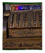 The Old Copper Cash Machine Fleece Blanket