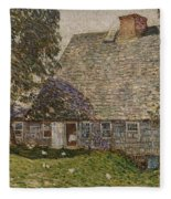 The Old Mulford House Fleece Blanket
