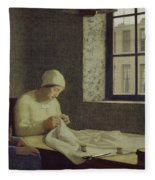 The Old Nurse Fleece Blanket