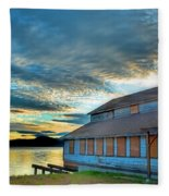 The Old Packing House Fleece Blanket