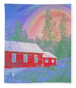 The Old Schoolhouse Library Fleece Blanket