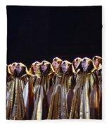 Verdi's Opera Aida Fleece Blanket