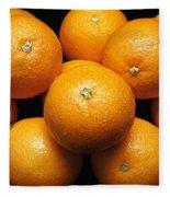 The Oranges Fleece Blanket