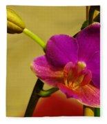 The Original Orchid Fleece Blanket