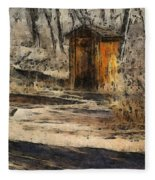 The Outhouse Fleece Blanket