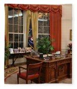 The Oval Office Fleece Blanket
