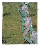 The Pads Digital Art Fleece Blanket