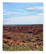The Painted Desert Fleece Blanket