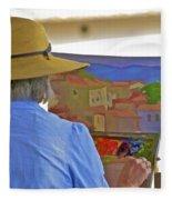 The Painter Fleece Blanket