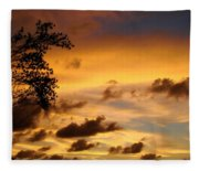 The Painting Of The Creator Fleece Blanket