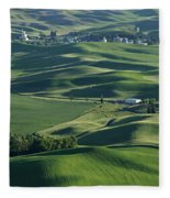 The Palouse 1 Fleece Blanket