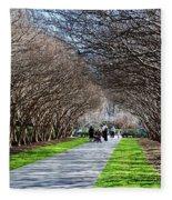 The Path Fleece Blanket