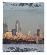 The Philadelphia Experiment Fleece Blanket