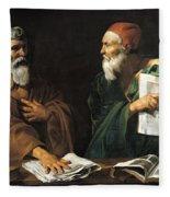 The Philosophers Fleece Blanket