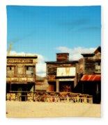 The Pioneer Hotel Old Tuscon Arizona Fleece Blanket