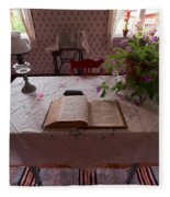 The Place Of The Bible In Kovero Fleece Blanket