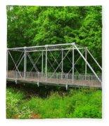 The Pony Bridge Fleece Blanket