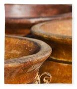 The Potters Terracotta Wares Fleece Blanket