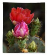 The Prickly Beauty  Fleece Blanket