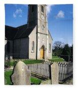 The Protestant Church, Delgany, Co Fleece Blanket