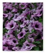 The Purple Sea Fleece Blanket