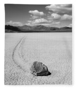 Death Valley California The Racetrack 2 Fleece Blanket