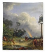The Rainbow Fleece Blanket