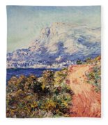 The Red Road Near Menton Fleece Blanket