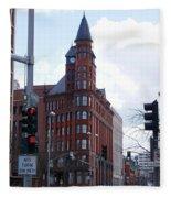 The Review Building 2 Fleece Blanket